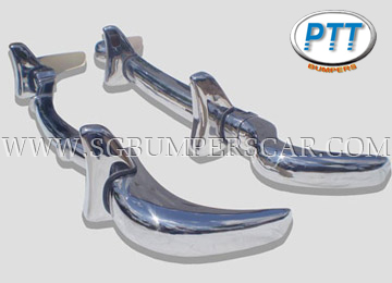 Mercedes - SL 190 for 1955-1963 Stainless Steel Bumpers