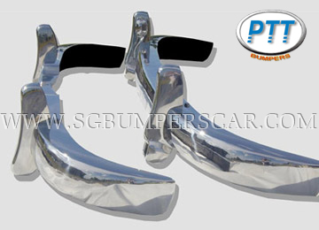 Mercedes 180-190 Ponton Stainless Steel Bumpers