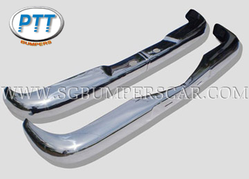 Mercedes Benz W110 Stainless Steel Bumpers (1961-1968)
