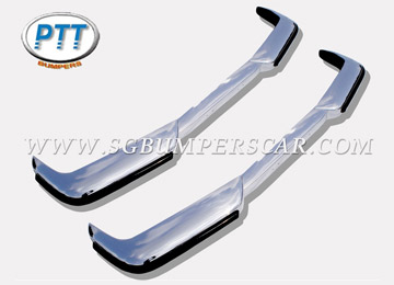 Volvo P1800S / P1800E Stainless Steel Bumpers